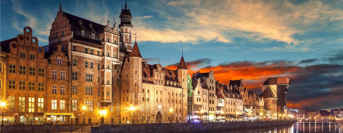Panorama Gdańska - najważniejsze informacje o mieście