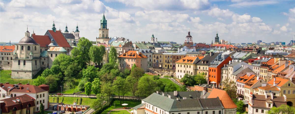 Panorama Lublina - najważniejsze informacje o mieście
