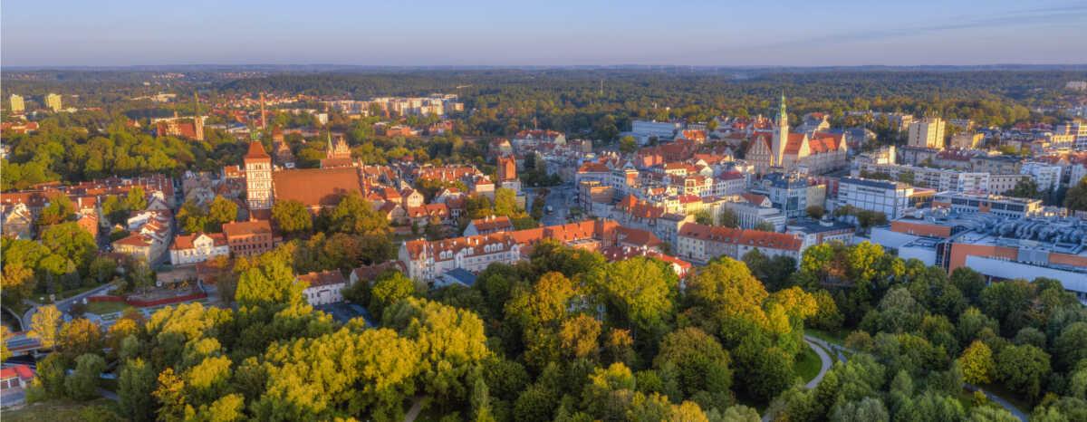 Panorama Olsztyna - najważniejsze informacje o mieście