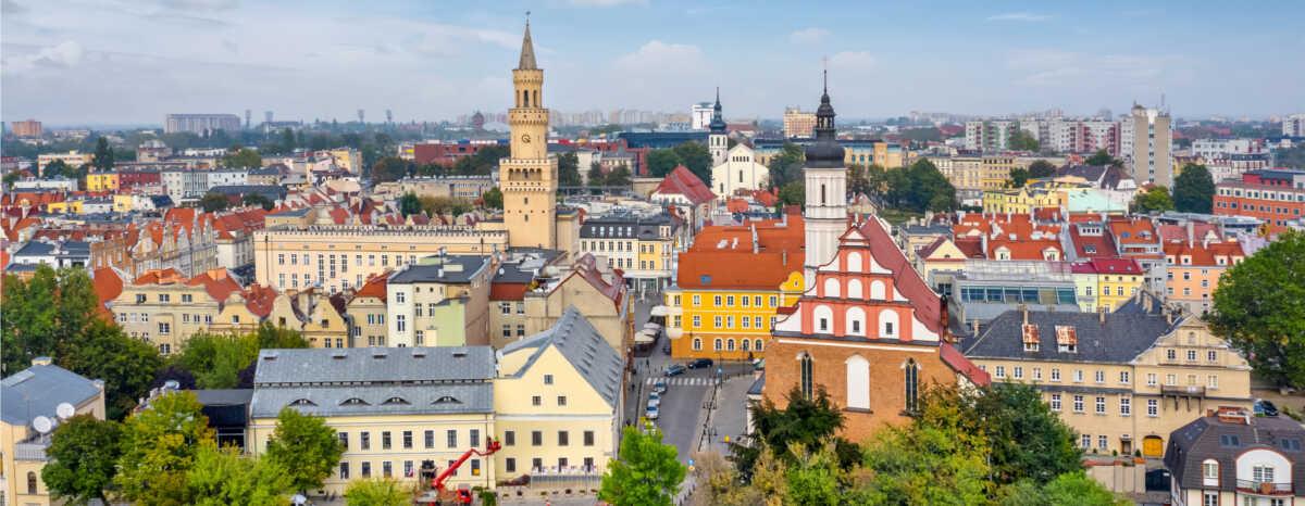 Panorama Opola - najważniejsze informacje o mieście