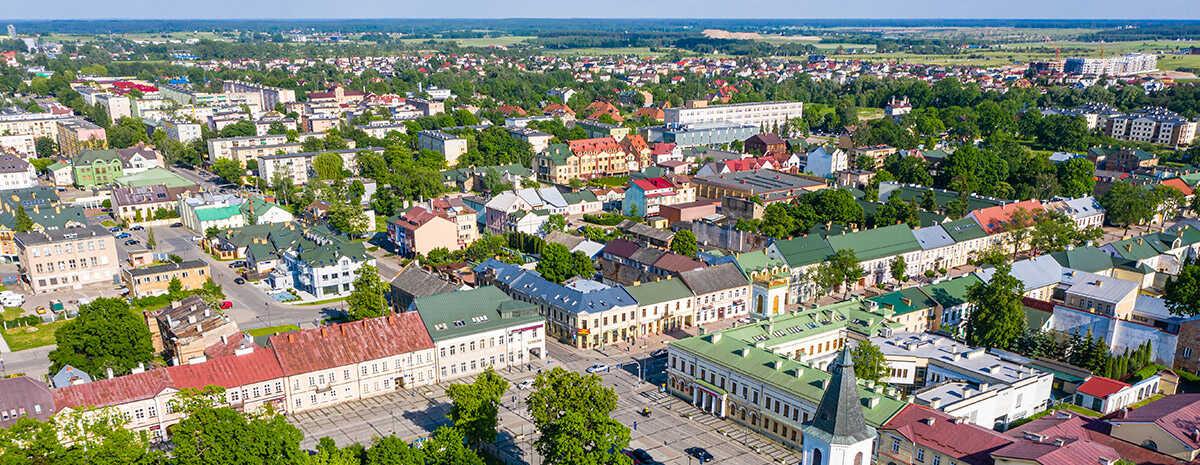 Panorama Suwałk - najważniejsze informacje o mieście